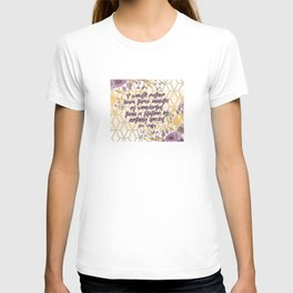 Steel Magnolias Movie Quote Three Minutes of Wonderful Shelby T-shirt