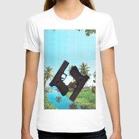 guns T-shirts featuring guns by Hoeroine