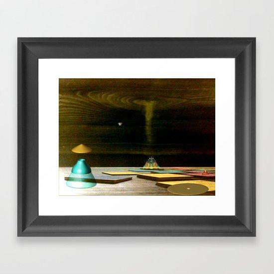 Oscylkep Framed Art Print