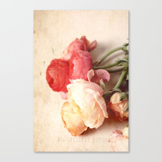 Romantic Heart Canvas Print