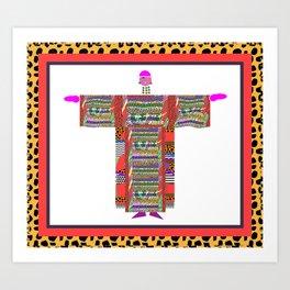 NEW DRESS Fashion Design Illustration Pattern Print Art Print