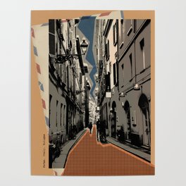 Parma -vintage post card Poster