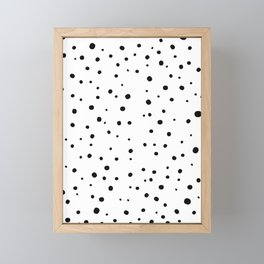 Spots Framed Mini Art Print
