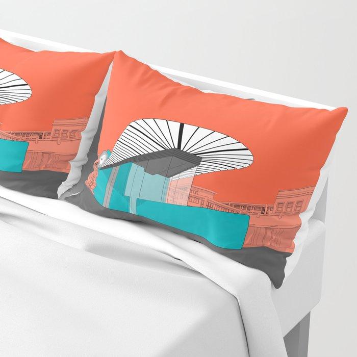 Turquoise Island Pillow Sham