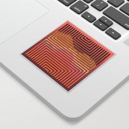 TOPOGRAPHY 2017-015 Sticker