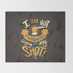 My Shot Throw Blanket