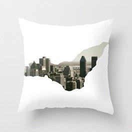 Montreal Throw Pillow