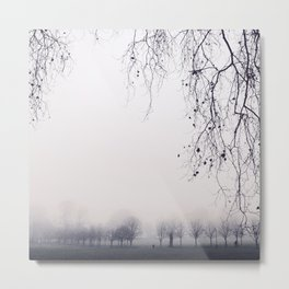Mystical Trees Metal Print