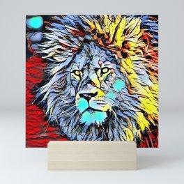 Color Kick Lion King Mini Art Print