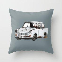 Trabant Throw Pillow