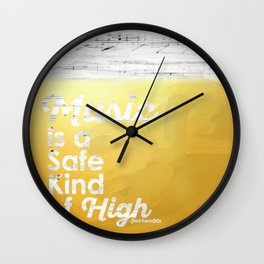 Lyrical Words for the Soul Wall Clock