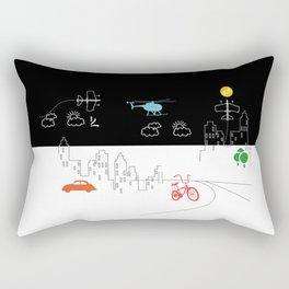 City Fun Rectangular Pillow