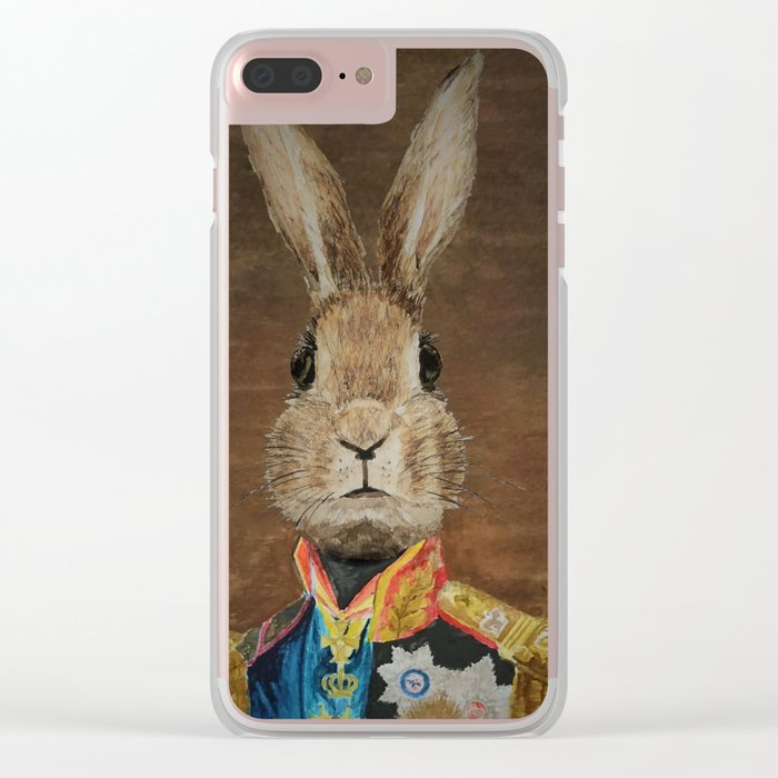 The most innocent general ever Clear iPhone Case