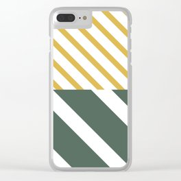 Forest x Stripes Clear iPhone Case