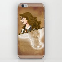 hermione iPhone & iPod Skins featuring Hermione Granger by Imaginative Ink