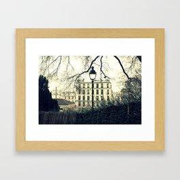 Parisian Hill  Framed Art Print