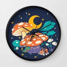 Goodnight Plume Wall Clock