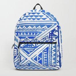 Geo tile art Backpack