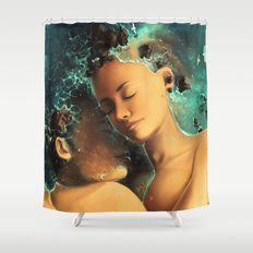 Be castaway into your arms Shower Curtain