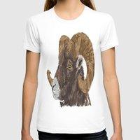 ram T-shirts featuring Ram by FractalFox