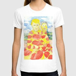 Donald and Kim, a Love Story T-shirt