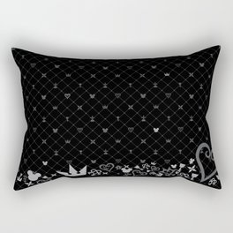 Kingdom Hearts BG Rectangular Pillow