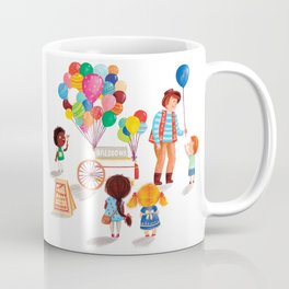 Balloon Stand Coffee Mug