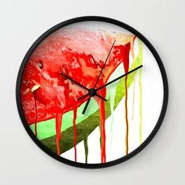 Melon Wall Clock