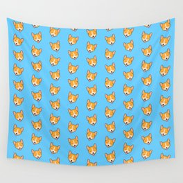 Corgi Puppies! Wall Tapestry