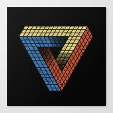 Penrose Puzzle Canvas Print