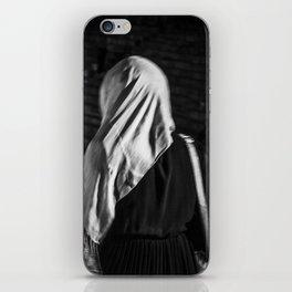 Muslim woman is walking iPhone Skin