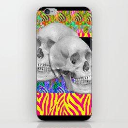 Skull Skull  iPhone Skin