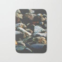 Rocks on a Beach Bath Mat