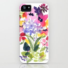 Petite Wildflowers iPhone Case