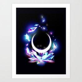 Dark Moon Ginzuishou Art Print