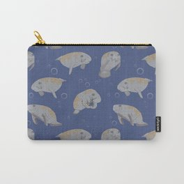 Manatees and Bubbles Carry-All Pouch