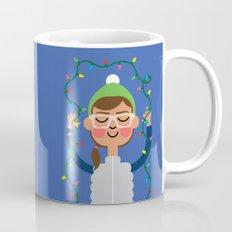 Holiday with Lights Mug