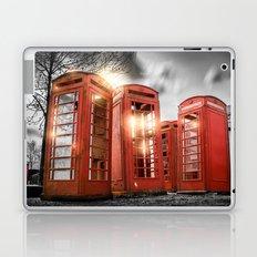 Red Phone Box - Art 2 Laptop & iPad Skin