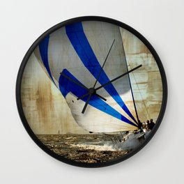 sailrace Wall Clock
