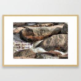 Isiah 26.4 Framed Art Print