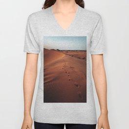 moroccan desert Unisex V-Neck