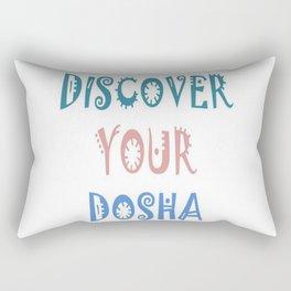 Discover Your Dosha Rectangular Pillow