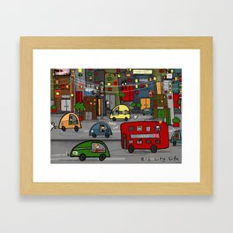 Big City Life Framed Art Print