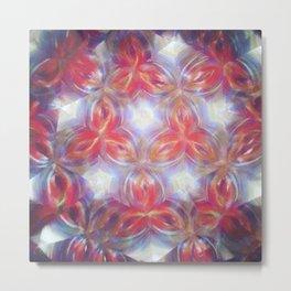 Kaleidoscope flower Metal Print