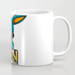 Rabbit T Shirt Merchandising Coffee Mug