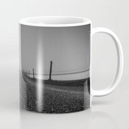 Misty Dawn - Landscape Photography Coffee Mug