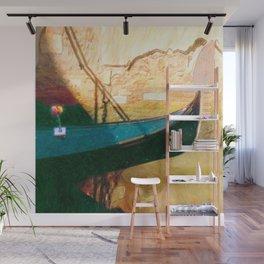 Venetian Gondola Wall Mural