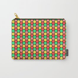 Happy Honeycombs Carry-All Pouch