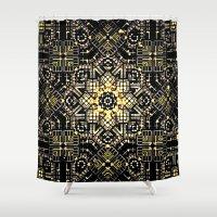 industrial Shower Curtains featuring Industrial flora by Steve W Schwartz Art