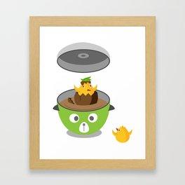 Tea Eggs Framed Art Print